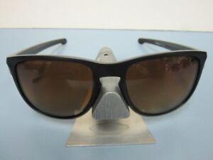 ca90c21602 OAKLEY mens SLIVER R sunglass Matte Black Brown Polarized OO9342-06 ...