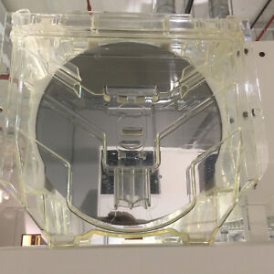 Image is loading Cassette-of-300-mm-12-inch-silicon-wafers-