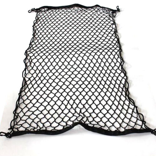 60x115CM Adjustable Elastic Car Trunk Luggage Cargo Net with Bungee Cord Hook UK