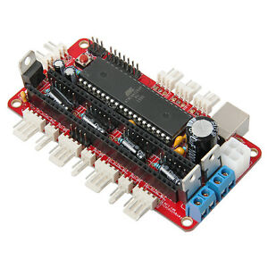 RepRap Prusa Mendel,Sanguinololu Rev 1.3a, assembled with StepStick A4988 Pololu
