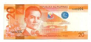 Filippine-Philippines-20-piso-2010-FDS-UNC-Pick-206-a-Lotto-3681