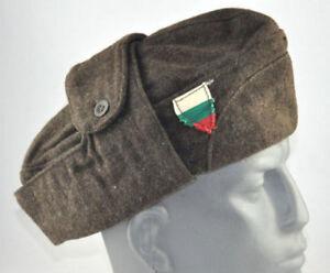 cd0841b568b Vintage Retro Bulgarian Winter Soldiers Hat Cap with Bulgarian Flag ...