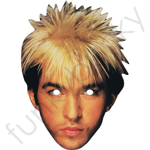 Limahl Kajagoogoo Celebrity 1980/'s Singer Card Mask All Our Masks Are Pre-Cut**