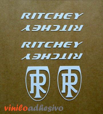 Pegatina Sticker Vinilo Ritchey Potencia Tija Bicicleta