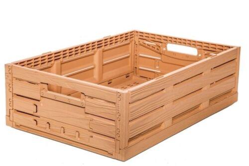 Apfelkiste Obstkiste Gemüsekiste Klappkiste Holzdesign 600x400x165mm Gastlando