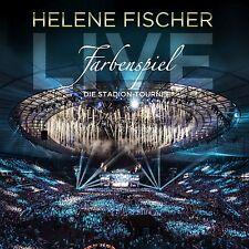 Helene Fischer-gioco di colori Live: la stadio-tournée 2 CD NUOVO
