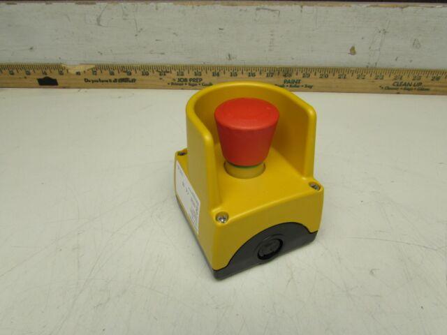 usado Siemens 3sb3 801-0ef3 carcasa para not-de pulsadores interruptor