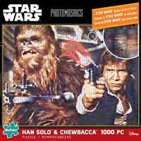Buffalo Games Photomosaics Puzzle Star Wars Han Solo & Chewbacca 1000 Pcs 10614