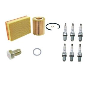 Tune Up Kit Spark Plugs Oil Air Filters for BMW Z4 E85 2003-2005