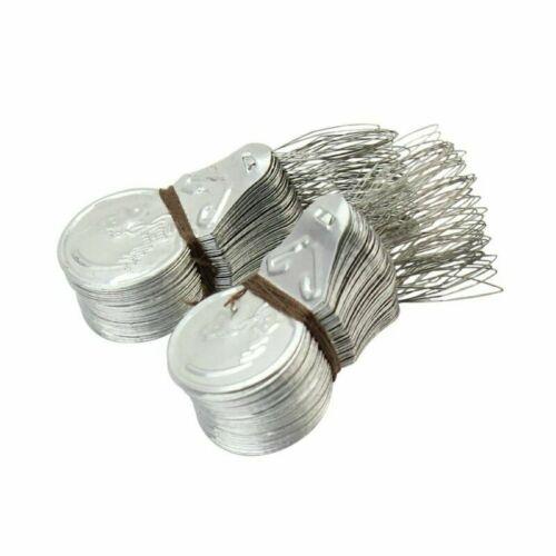 Silver Tone Wire Loop Needle Threader Stitch Insertion Hand Machine Sewing 100