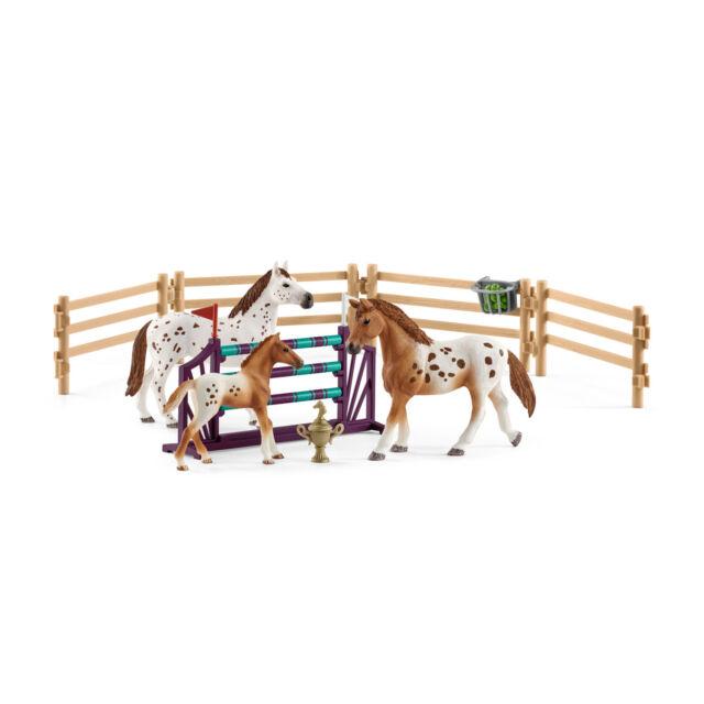 "Schleich®  HORSE CLUB®  42433  "" Lisas Turnier-Training  "",  NEU & OVP"