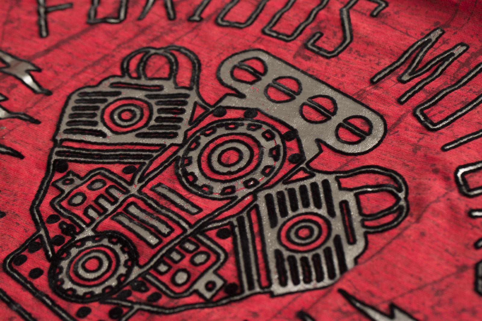 Affliction Fast & & & Furious T-Shirt Street LEGEND ROSSO T-shirts e2fcd8