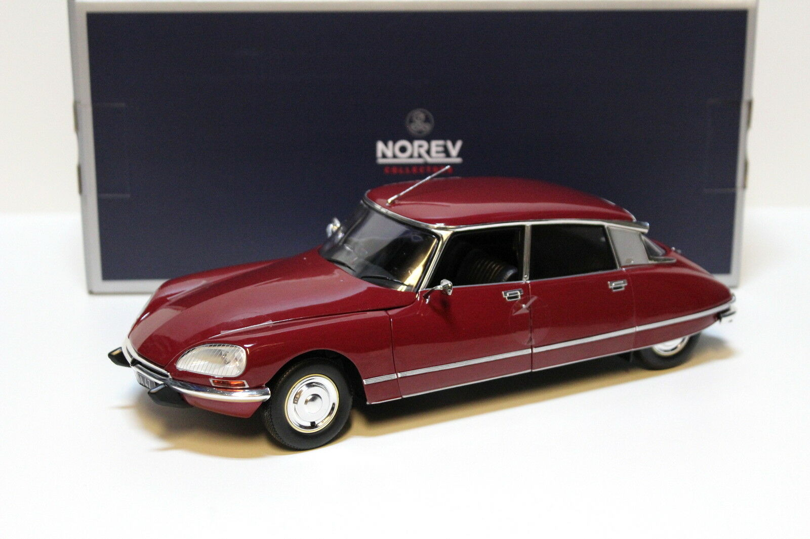 1 18 Norev Citroen DS23 Pallas 1973 Massena red NEW bei PREMIUM-MODELCARS