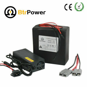 36V 48V 10Ah Lithium LiFePO4 Battery Pack For 300W 500W Ebike Electric Bicycle