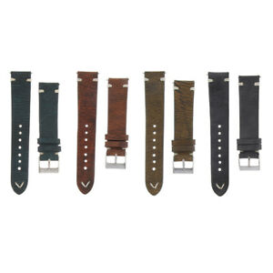Handmade-Texture-Cowhide-Leather-20mm-22mm-Strap-Band-Tool-Kit-Watchmaker