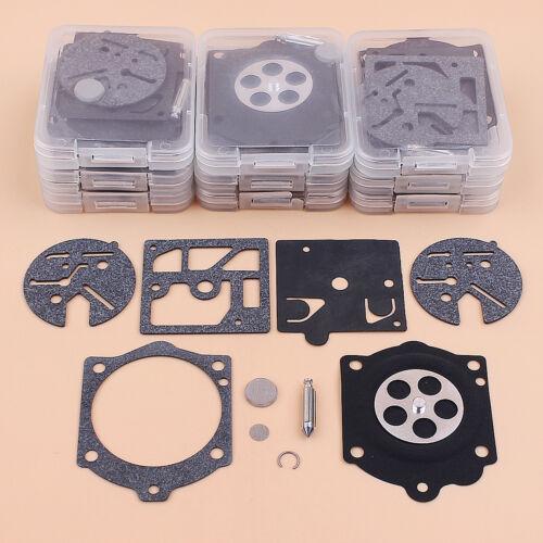 10pc Carburetor Carb Kit Fit Walbro K10-HDC Stihl 015 015AV 015L 15AVE Chainsaws