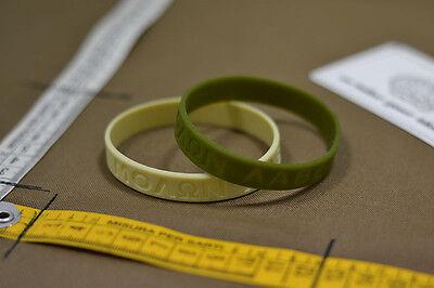 Braccialetto Molon Labe PVC bracelet Airsoft NSW delta force sas SBS navy seal