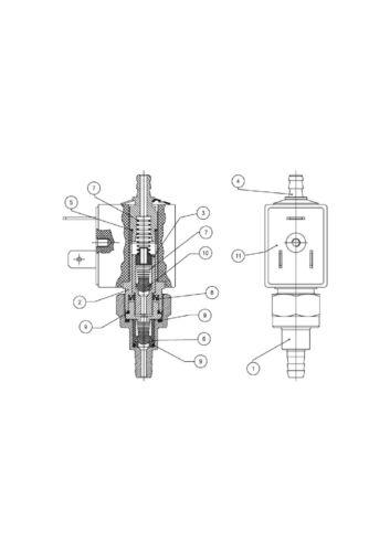 OLAB 14000 Schwingkolbenpumpe 24V//AC 29VA