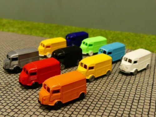 1//160 N-Spur Citroen HY verschiedene Farben 10 Stk Set 8