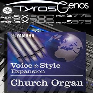S-series Tyros Genos *PREMIUM CHOIR* Expansion Pack Yamaha PSR-SX900//700