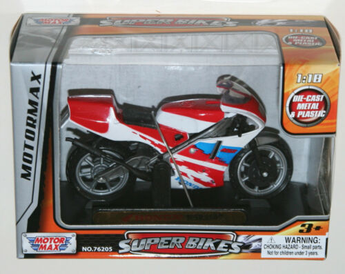 Motor Max HONDA NSR250 Motorbike Model Scale 1:18