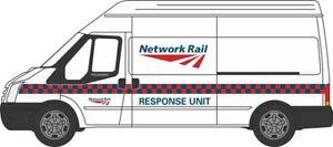 Oxford-Die-Cast-1-76-Ford-Trafico-Red-Rail-Rapid-Respuesta