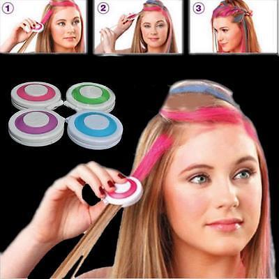 4PCs DIY Temporary Hair Chalk Special Color Dye Pastels Salon Kit Non-toxic Hot