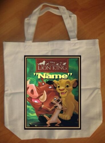 Lion King Personalized Tote Bag - NEW