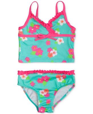 Penelope Mack Infant Toddler Girls Pink Black White 1 Pc Swimsuit 12M//18M//24M
