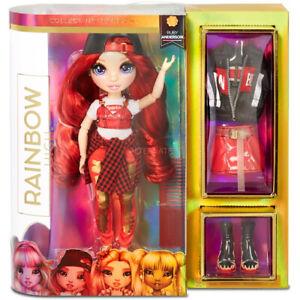 MGA Rainbow High RUBY ANDERSON RED FASHION DOLL Series 1 w ...