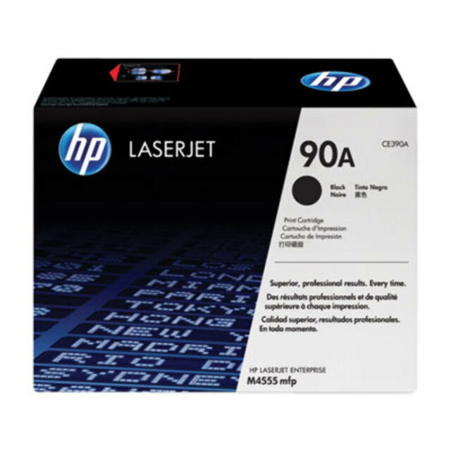 HP 90A Black Toner 10,000 Page Yield