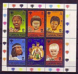 2019 DernièRe Conception Gibraltar Bloc 6 Cachet-afficher Le Titre D'origine