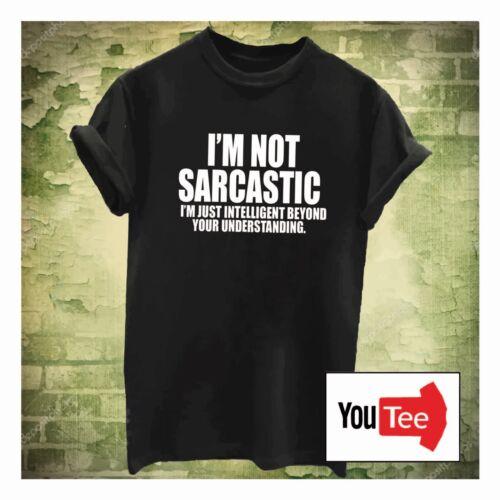 QUALITY Sarcastic Intelligent tshirt t-shirt fashion meme grunge hipster sassy