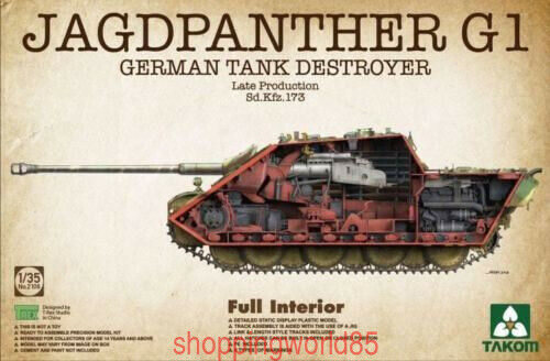 Takom 2106 1 35 German Sd. Kfz. 173 Jagdpanther G1 late Version full Interior