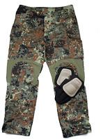 Tmc Flecktarn Gen3 Tactical Military Combat 3d Pants With Pads Airsoft Paintball