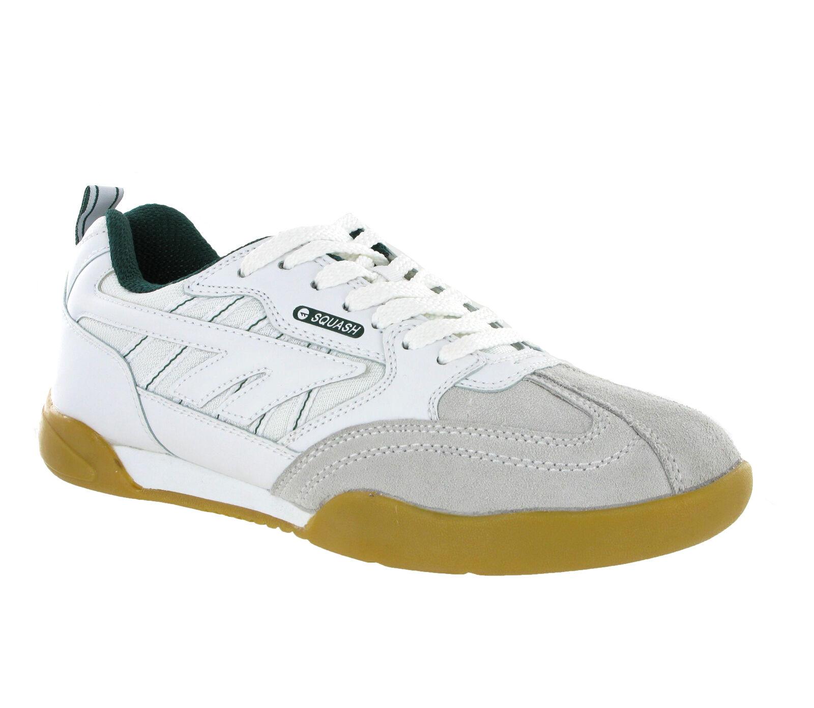 Hi-Tec Squash Classic Trainers Mens Badminton Indoor Court Tennis Sports shoes