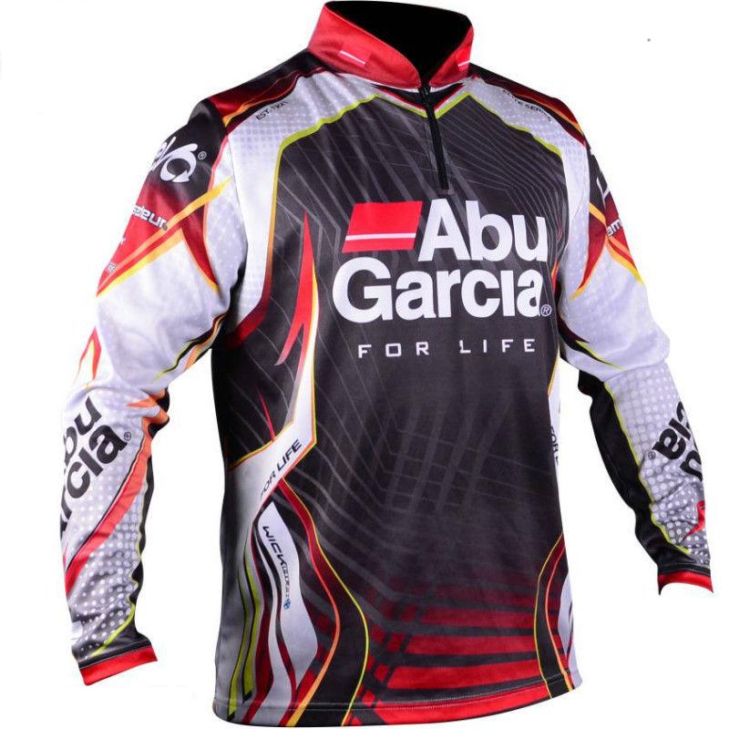 Abu Garcia Pro Tournament Fishing Jersey Shirt XLarge Dimensione Free USA Shipping