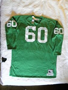info for 272d5 5ced0 Details about Mitchell Ness M&N Philadelphia Eagles Chuck Bednarik Tom  McDonald Jersey Signed