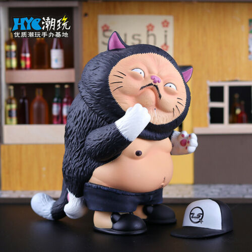 New Tide Moyashi Maguro Senpai Salmon Tuna Pikachu Fish Vinyl Figure Toys Model