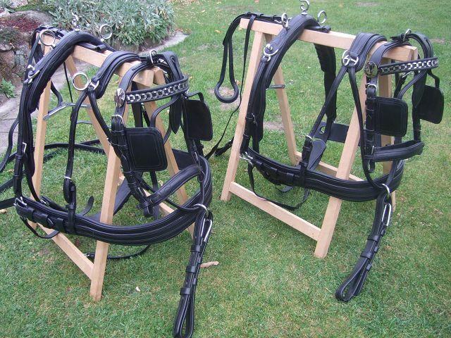 Pfiff 100180 Aufhalteriemen mit Patentverschluss schwarz 1 Paar Größe Full
