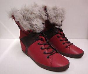 1-paire-de-chaussures-femme-Groundfive-rouge-taille-38-NEUVE
