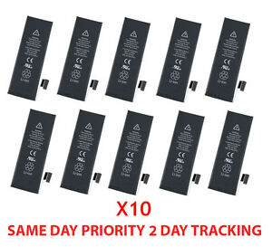 OEM-Lot-of-10-New-1440mAh-3-8V-Replacement-Internal-Battery-For-Apple-iPhone-5