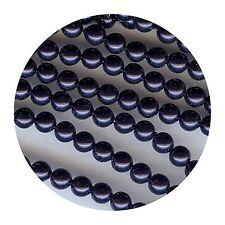 5810/6/NB** 23 perles nacrées Swarovski 6mm NIGHT BLUE