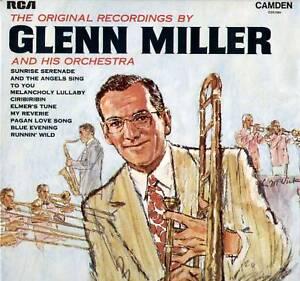 GLENN-MILLER-ORIGINAL-RECORDINGS-1969-UK-10-TRACK-LP-RCA-CAMDEN-CDS-1004