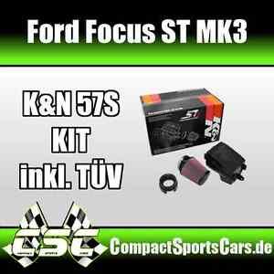 ford focus st250 mk3 2 0t ecoboost 250ps k n kit. Black Bedroom Furniture Sets. Home Design Ideas