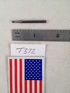 """SD-3L6 DOUBLE CUT 1 NEW FALCON // SGS 1//4/"""" SH CARBIDE BURR USA BUR  -T333 BALL"""