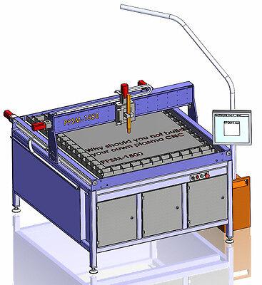 CNC Bauplan Plasmaschneider Plasma table plans plasma router Plasmaschneidanlage