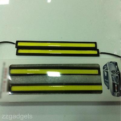 12V 10W Car Auto LED COB DRL Driving Daytime Running Lamp Ultra Bright Fog Light