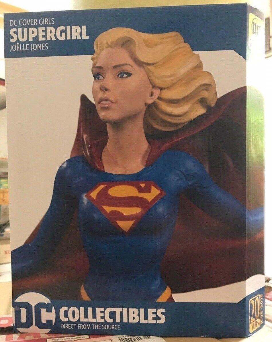 Supergirl Statue - - - DC Collectibles Cover Girls - Kara Zor-El - Superuomo Kal-El 4c0d0c