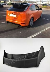 Details About Ford Focus Mk2 2004 2007 Roof Spoiler Tuning